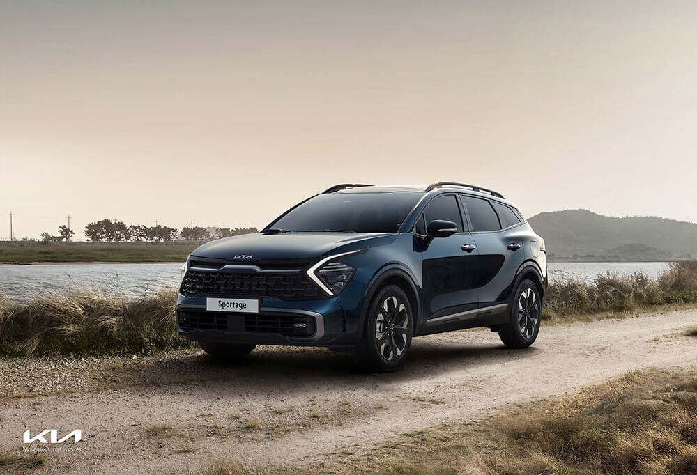 The all-new Sportage exterior, the ultimate urban SUV.